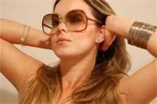 Óculos para rosto arredondado