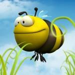 papel de Parede 3D abelha 3d
