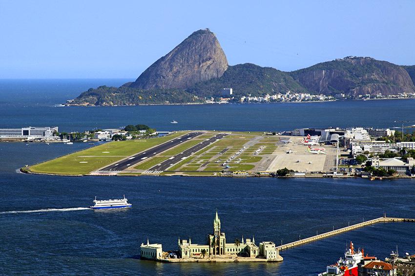 Aeroporto Rio De Janeiro : Onde fica o aeroporto santos dumont