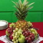Arranjos frutas tropicais