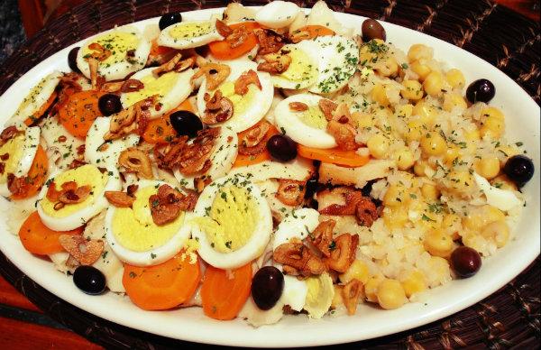 O Bacalhau à Milú é servido nos almoços em família.