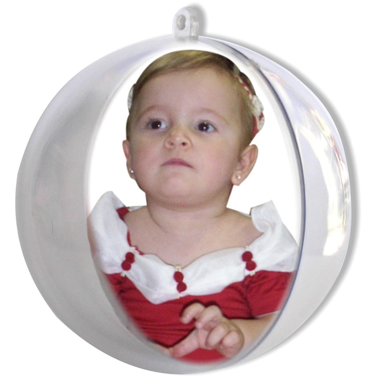 Bola de natal com foto