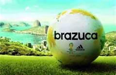 Brazuca - a bola oficial da copa de 2014.