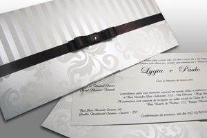 Convite de Casamento passo a passo.