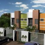 Casa geminada aquitetura