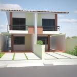 Casa geminada dois pavimentos