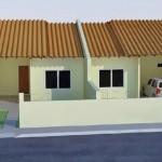 Casa geminada simples