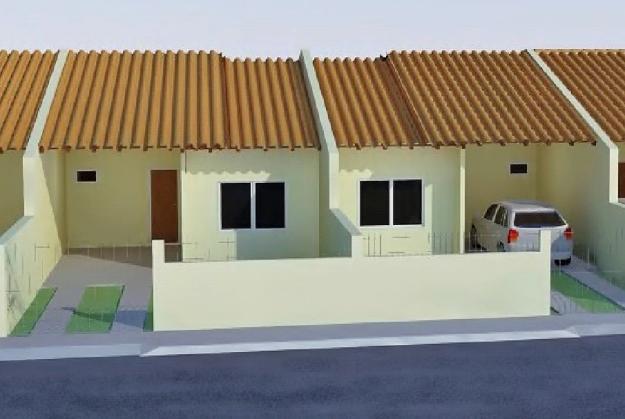 Modelo Casa Popular Geminada