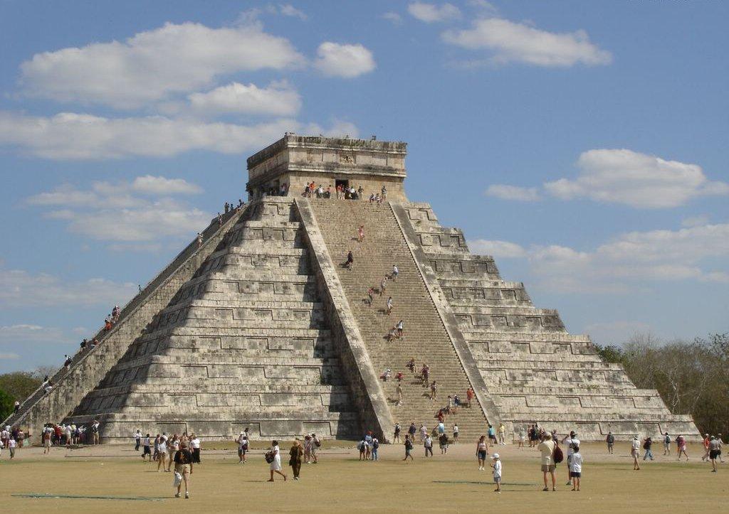 Templo Maia Chichen Itza.