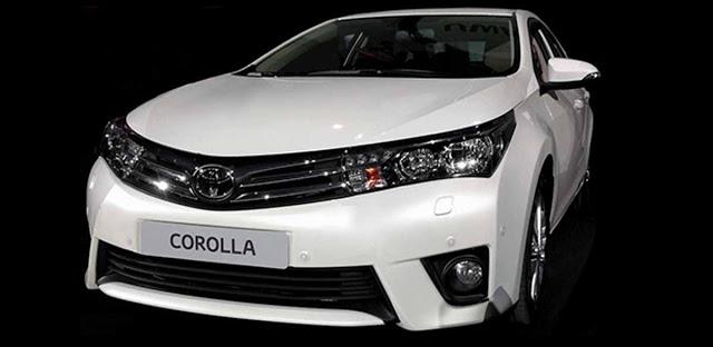 Corolla 2014 frente