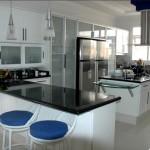 Cozinha planejada metal