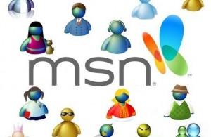 Modelos de enfeite para MSN Messenger .