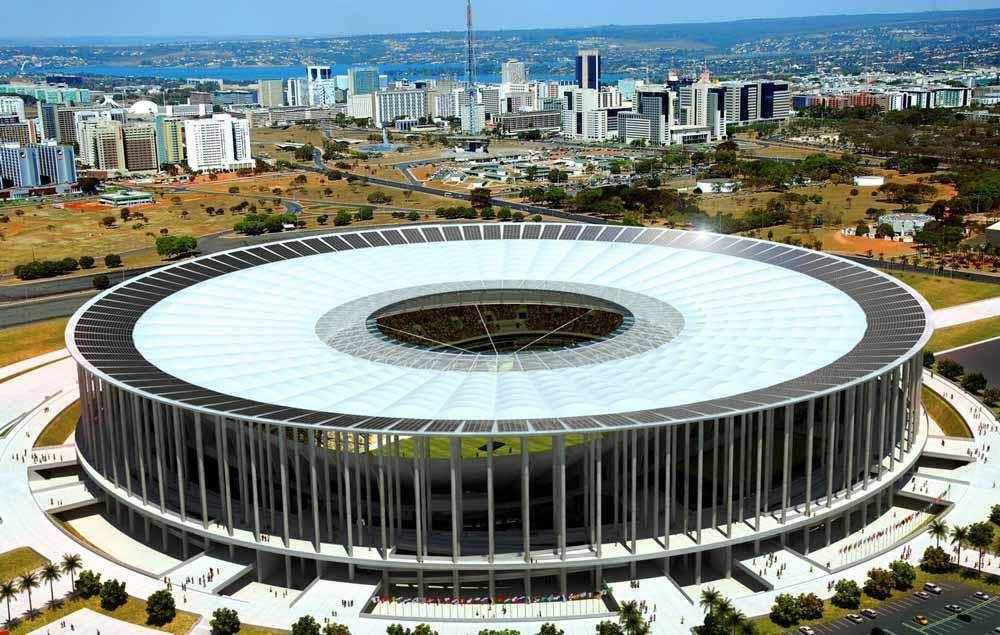 Estádio Nacional de Brasília - Mané Garrincha (foto: reprodução)