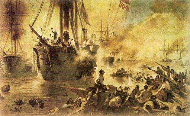 Batalha de Riachuelo - Guerra do Paraguai
