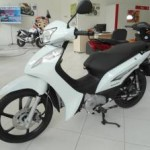 Honda Biz 2013 Branca em loja
