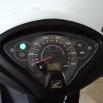 Honda Biz 2013 Branca painel