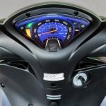 Honda Biz 2013 Branca painel luminoso