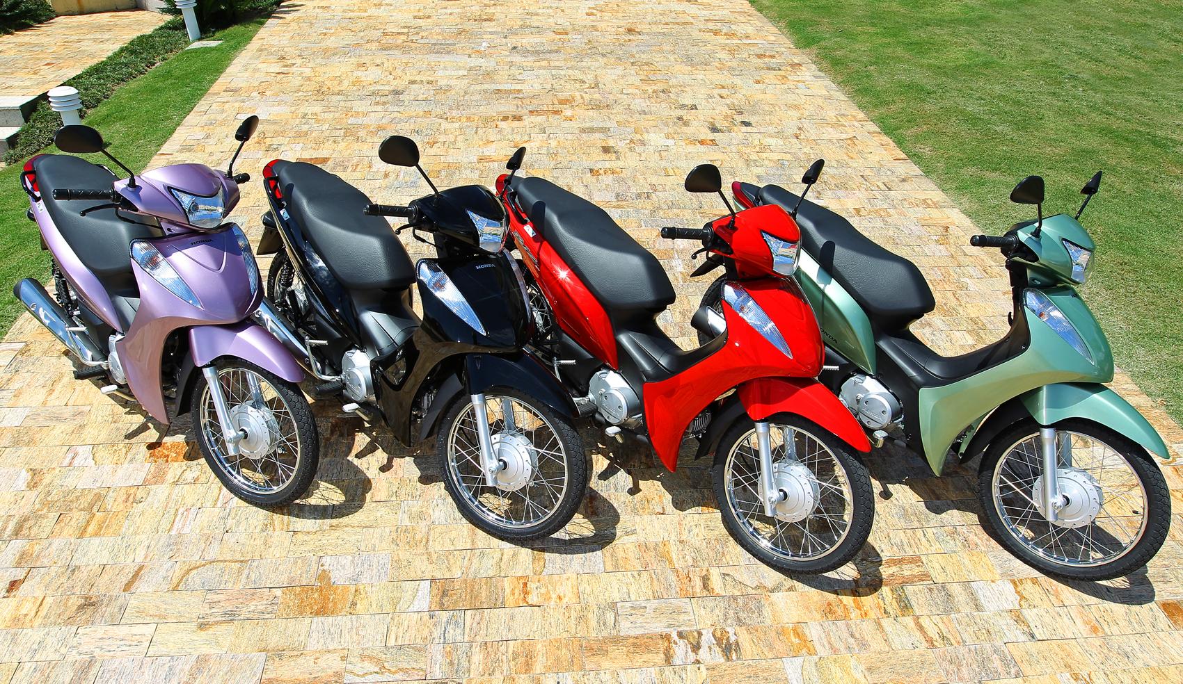 Foto Moto Honda Biz 125 Pra Papel De Parede