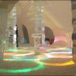 Ice Hotel Combinação de luzes