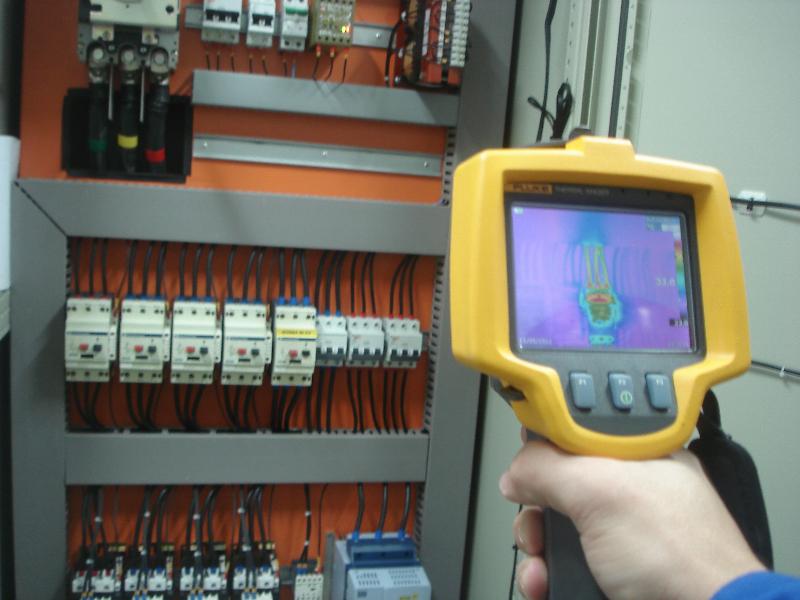 Inspeção termográfica - comissionamento