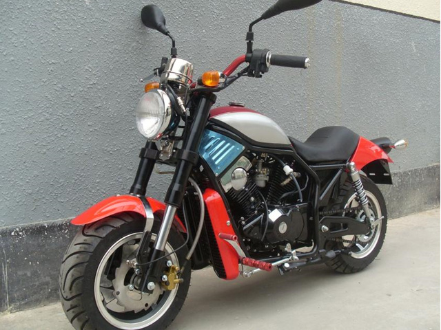 Mini Moto Custon Stilo Harley 110cc