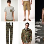 Moda masculina 2013 Estilo militar
