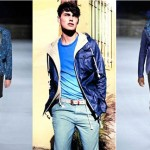 Moda masculina 2013 azul oceano