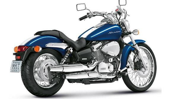 Nova moto Shadow 750.