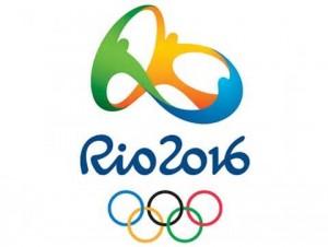 Logo oficial das Olimpíadas 2016.