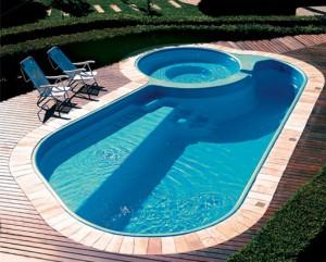 Preço médio de uma piscina.