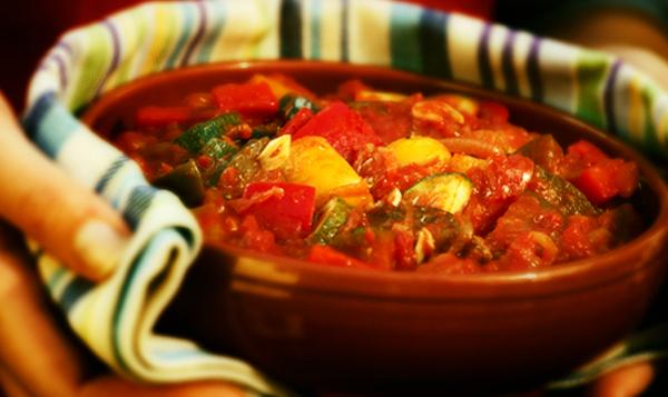 O pisto é um dos pratos mais fáceis em modo de preparo.