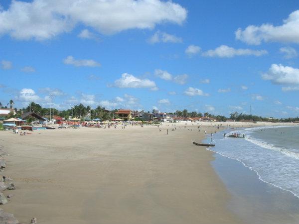 Praia da Redinha - Natal (Foto:Reprodução) Créditos de imagem: http://pbturismojampa.blogspot.com.br/