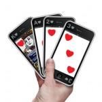 Baralho em formato de Iphone