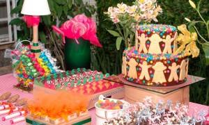 Quantidade de bolo por convidado.