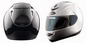 O RV MSX1 é denominado popularmente como capacete com retrovisor, isso devido ao seu jogo de espelhos.