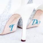 Sapato de Noiva com Adesivo