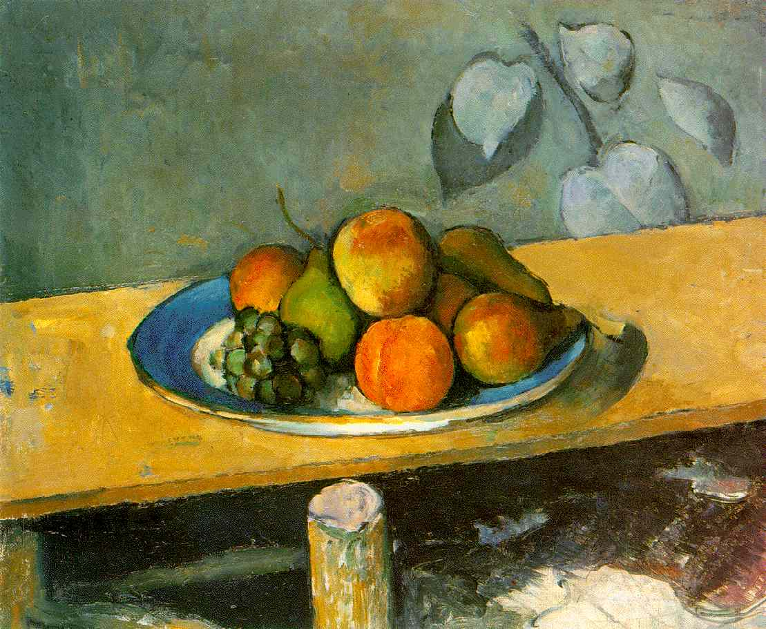 Paul Cézanne - Still Life with Curtain and Flowered Pitcher (foto: reprodução)