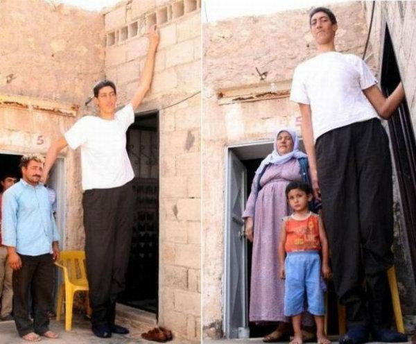 Homem mais alto do mundo.