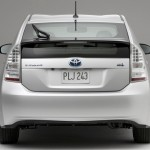 Toyota prius trás
