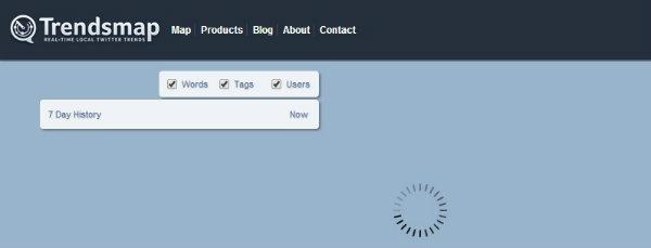 Página HOME do site.