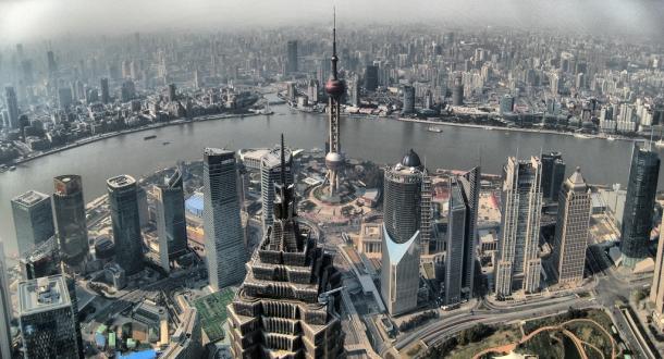 Xangai, cidade mais populosa da China.