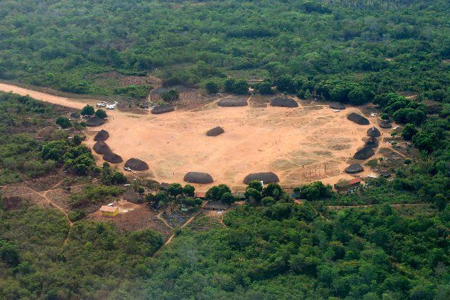 Xingu aldeia