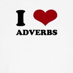 Adverb = advérbio