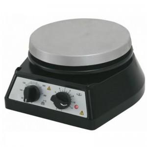 O agitador magnético serve para misturar soluções.