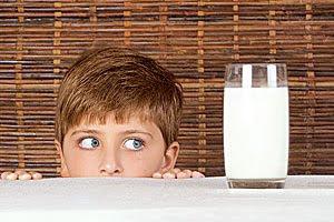A alergia a lactose são casos raros.