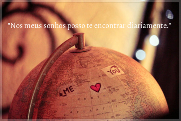 Amor á distância (Foto: Reprodução)