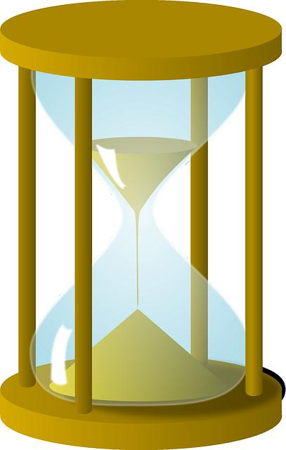 Forma antiga de medir o tempo.
