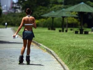 andar de patins