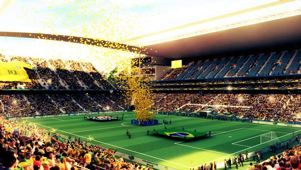 O Arena Corinthians é um novo projeto para 2014 do clube