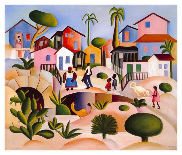 Arte Moderna no Brasil - pinturas que evidenciam  a história brasileira (Foto: Divulgação)